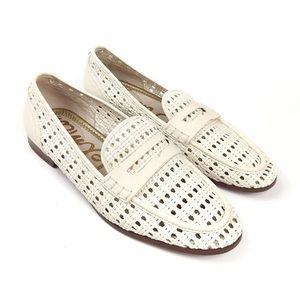 Sam Edelman Leora woven leather loafers